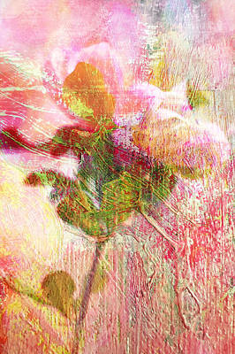 Photograph - Tulip Tree Flower Impression by Suzanne Powers