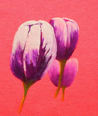 Painting - Tulip Trio by Betty-Anne McDonald