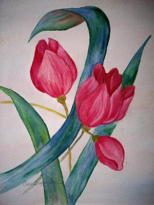 Painting - Tulip Tulip by Cary Singewald