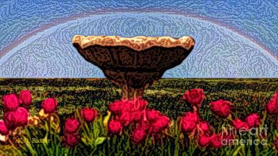 Tulip Utopia Art Print by Kimberlee Baxter