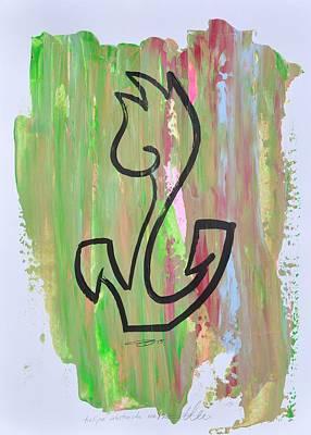 Flowerfield Painting - Tulipa Abstracta 02/30 by Eduard Meinema
