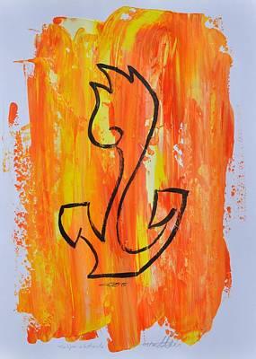 Painting - Tulipa Abstracta 03/30 by Eduard Meinema