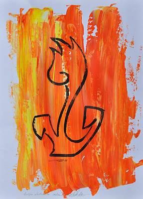 Painting - Tulipa Abstracta 04/30 by Eduard Meinema
