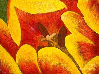 Tulipan Anaranjado Art Print by Karla Kernz
