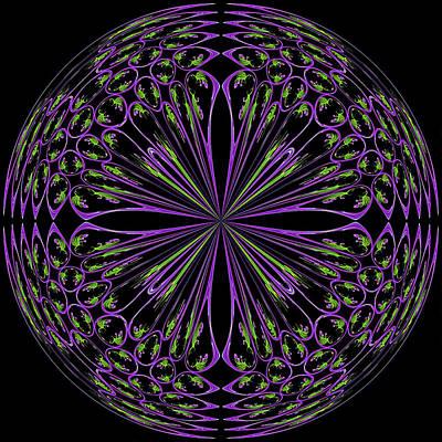 Digital Art - Tulipart 2 by Cyndy Doty