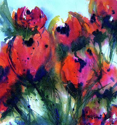 Tulips 2 Art Print by Marti Green