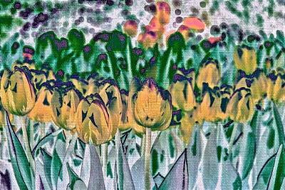 Photograph - Tulips by Alison Frank