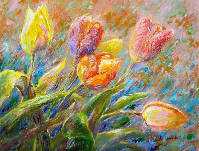 Painting - Tulips by Bonnie Goedecke