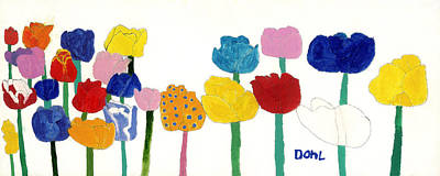 Painting - Tulips  by Don Larison
