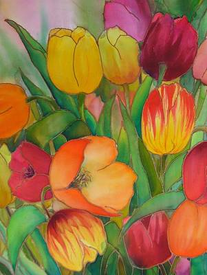Painting - Tulips by Evelyn Antonysen
