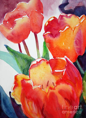 Painting - Tulips Grouping by Kathy Braud
