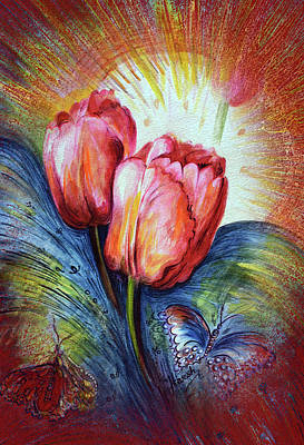 Painting - Tulips by Harsh Malik