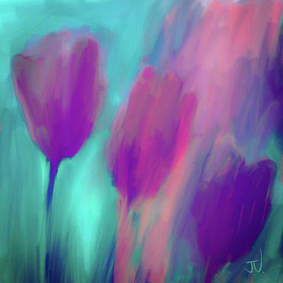 Digital Art - Tulips II by Jim Vance