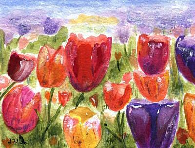 Painting - Tulips by Jamie Frier