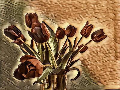 Photograph - Tulips by Jonathan Nguyen