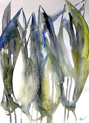 Painting - Tulips by Katerina Kovatcheva
