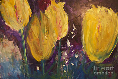 Painting - Tulips by Gallery Messina