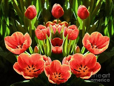 Photograph - Tulips by Ray Warren
