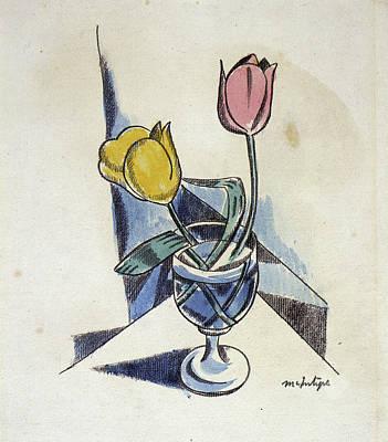 Raymond Painting - Tulips by Raymond McIntyre