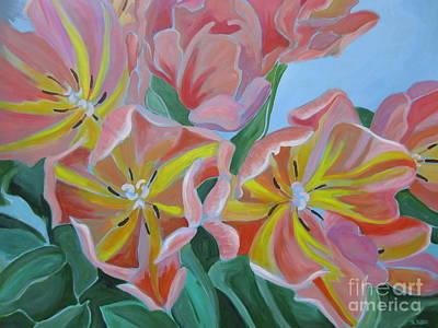 Painting - Tulips by Sandra Yuen MacKay