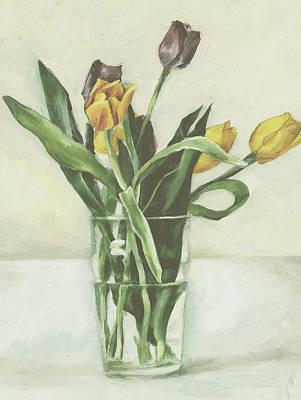Tulips Art Print by Sarah Madsen