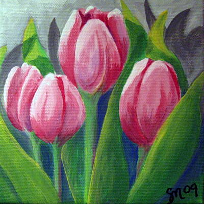 Tulips Art Print by Sharon Marcella Marston