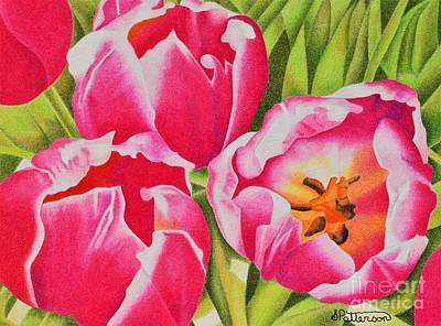Tulips Original by Sharon Patterson