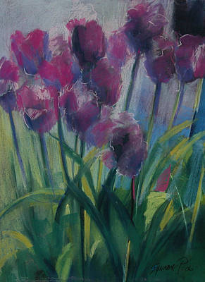 Painting - Tulips by Synnove Pettersen