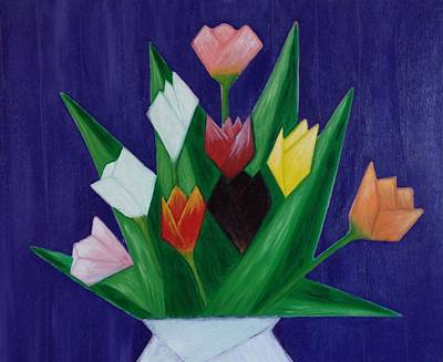 Painting - Tulips by Tamara Savchenko
