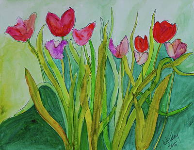Painting - Tulips by Teresa Tilley