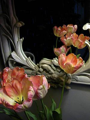 Tulips Art Print by Vari Buendia