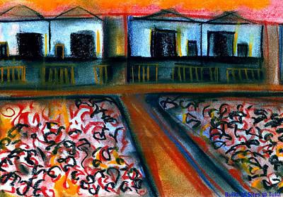 Tulla Factories 2 Art Print by J Kamaru