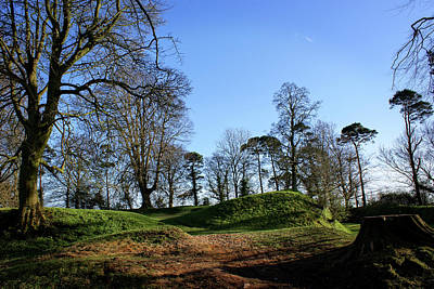 Tullyhogue Fort, Cookstown. Art Print