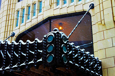 Photograph - Tulsa Deco In The Snow by Susan Vineyard