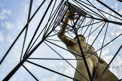 Photograph - Tulsa Driller Low Vantage Point by Gregory Ballos