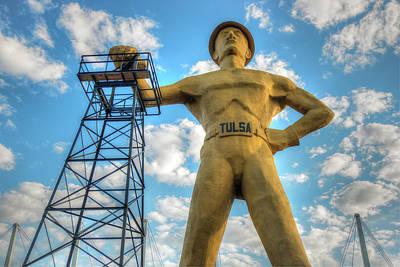 Photograph - Tulsa Driller Tulsa Oklahoma - Color by Gregory Ballos