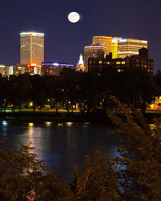 Wall Art - Photograph - Tulsa From The Westbank  by Daniel Kleefeld
