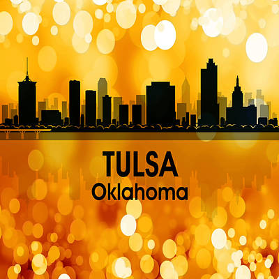 Digital Art - Tulsa Ok 3 Squared by Angelina Vick