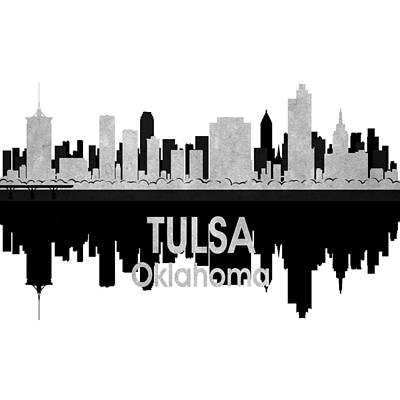Digital Art - Tulsa Ok 4 Squared by Angelina Vick