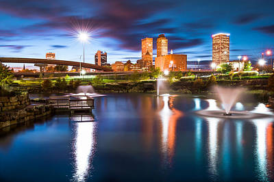 Photograph - Tulsa On The Water by Gregory Ballos