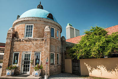 Photograph - Tulsa Skyline From The Blue Dome District by Gregory Ballos