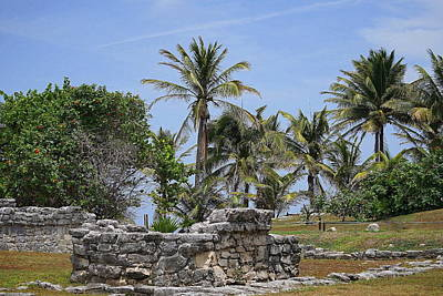 Photograph - Tulum 4 by Laurie Perry