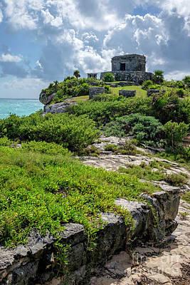 Photograph - Tulum Maya Ruins by Eyzen M Kim