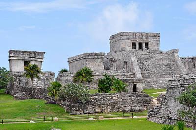 Impressionist Landscapes - Tulum Mayan Ruins by Glenn Gordon