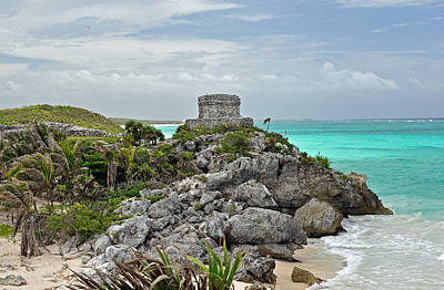 Photograph - Tulum Mexico by Glenn Gordon