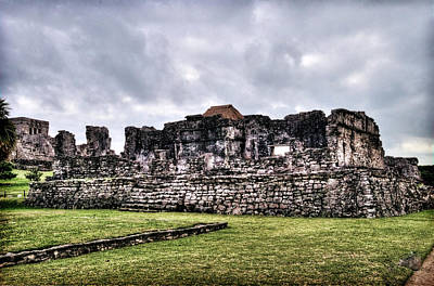 Photograph - Tulum Ruins by Tammy Wetzel
