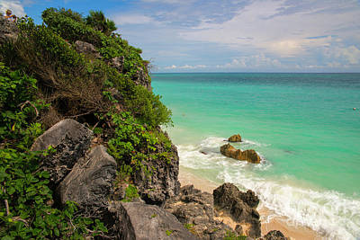 Photograph - Tulum Scenery by Yuri Santin