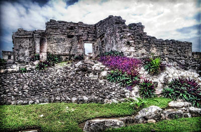 Photograph - Tulum Temple Ruins No.2 by Tammy Wetzel
