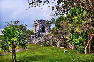 Photograph - Tulum Watchtower by Tammy Wetzel