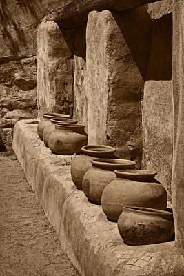 Photograph - Tumaca'cori Antique Pots Tnt by Theo O'Connor